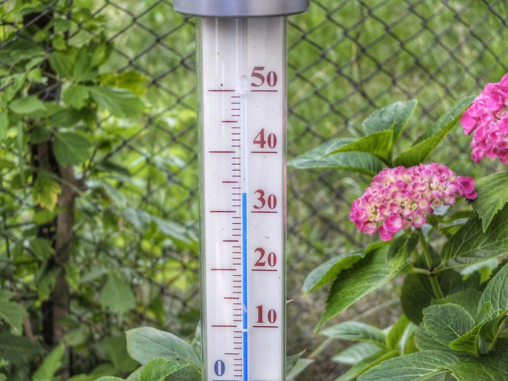 Thermometer 33 graden